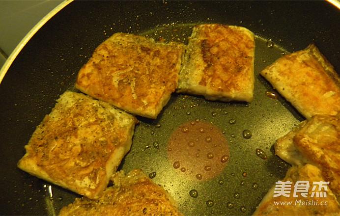 干煎黑椒带鱼怎么吃