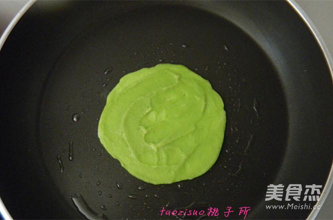 青菜煎饼怎么做