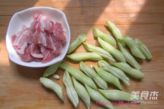 五花肉焖扁豆的做法图解
