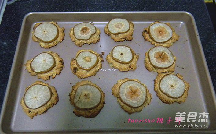 香梨燕麦饼怎么炒