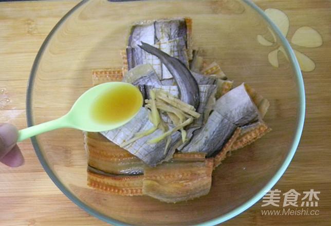 葱香蒸鳗鱼的简单做法