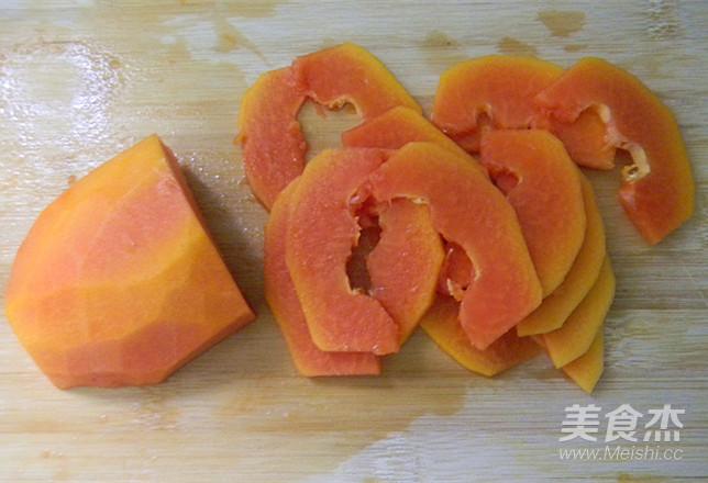 木瓜汆鱼片的简单做法