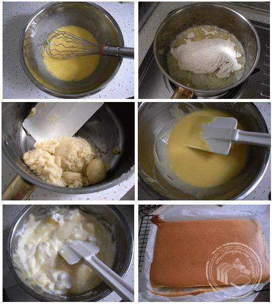 日本棉花蛋糕的做法大全