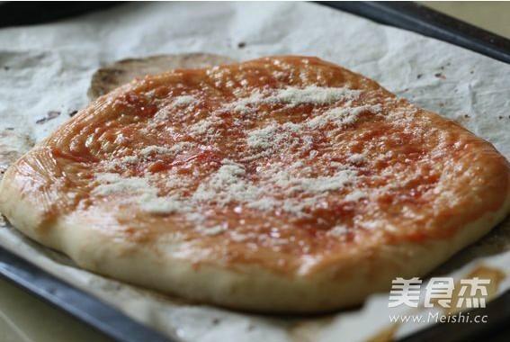 素披萨的家常做法