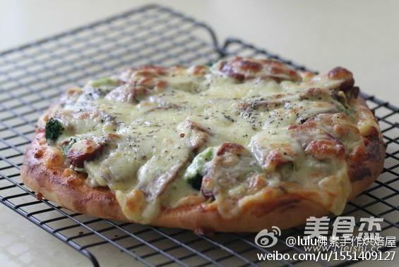 素披萨怎么炒