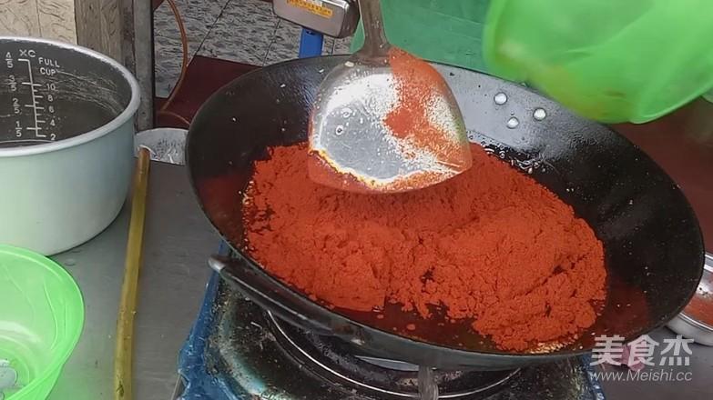 柳州螺蛳粉的做法--红油怎么吃