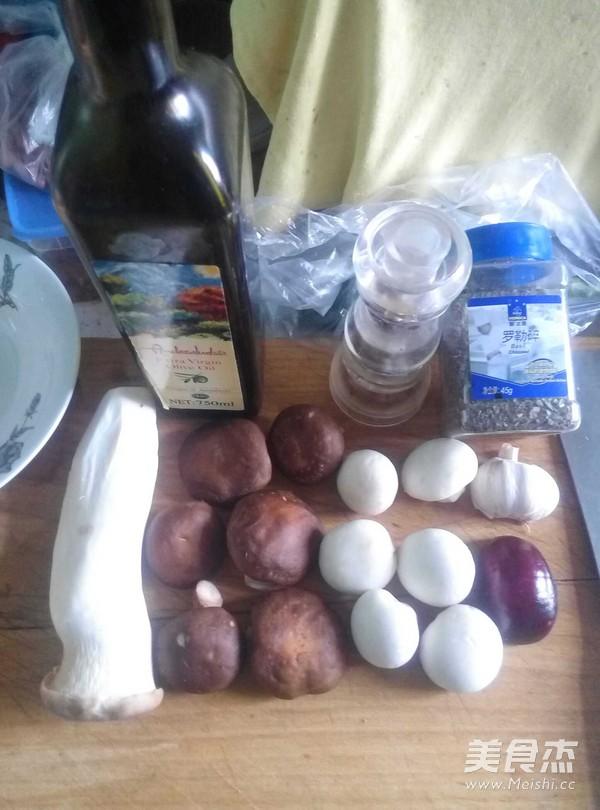 素炒蘑菇的做法大全