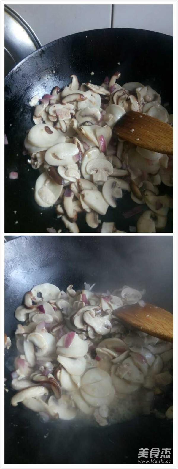 素炒蘑菇的简单做法