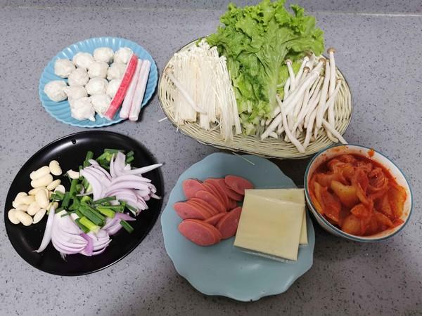 韩国泡菜火锅的做法大全