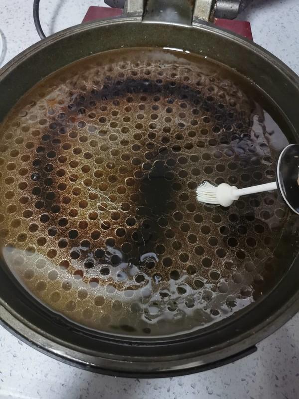 饺子皮葱花饼(快手早餐)怎么煸
