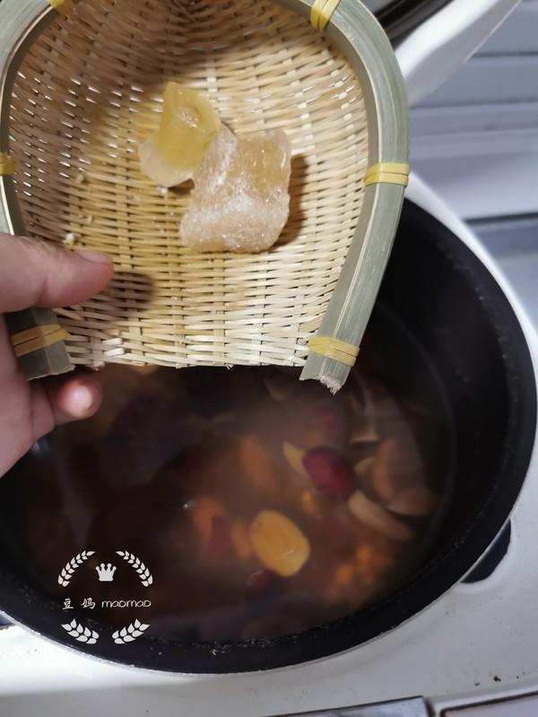 桃胶红枣薏米汤怎么炖