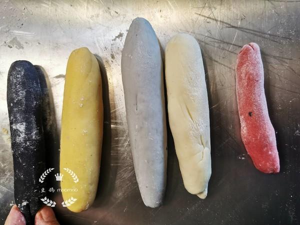 彩虹豆沙卷怎么做