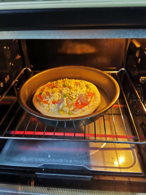 虾仁芝士披萨怎么做