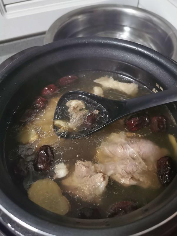 当归红枣羊肉汤怎么吃