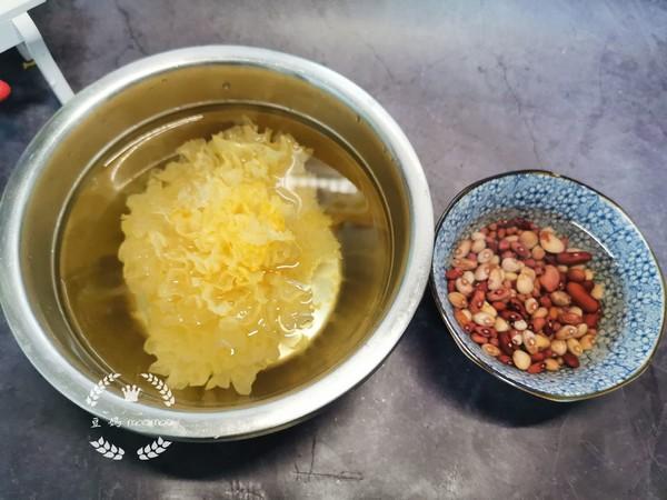 红豆银耳汤的做法图解