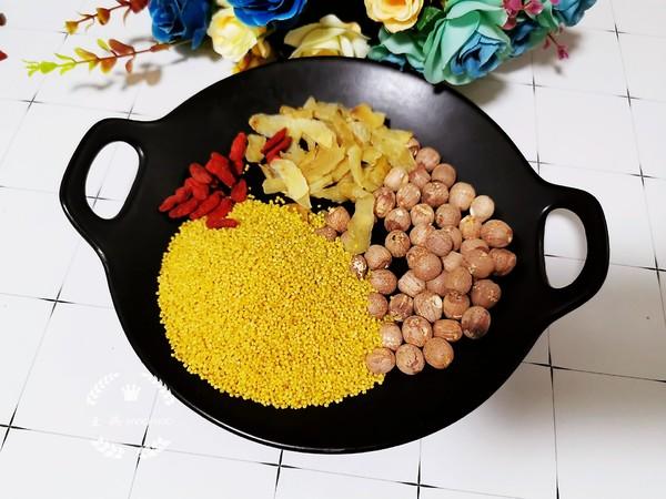 莲子百合小米粥的做法大全