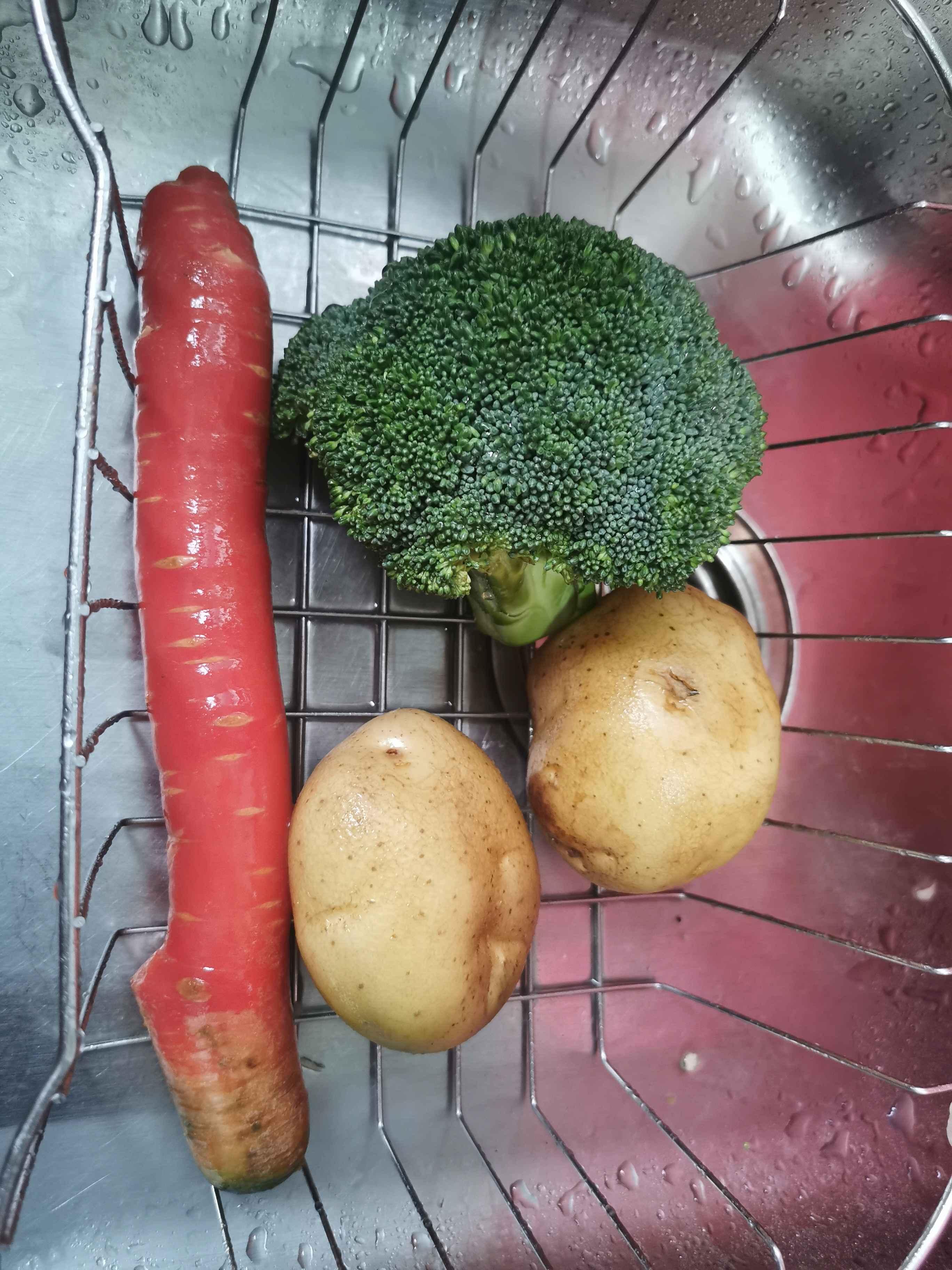 土豆蔬菜拼盘的做法大全