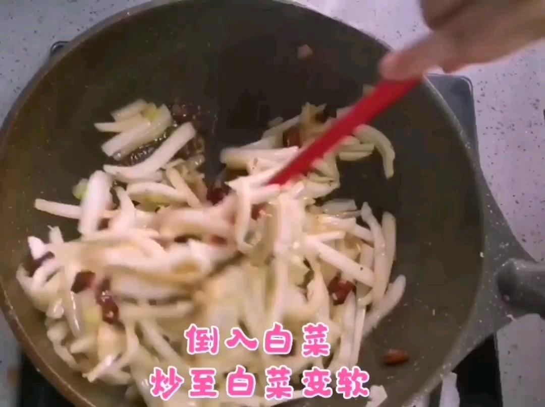 酸辣白菜的家常做法