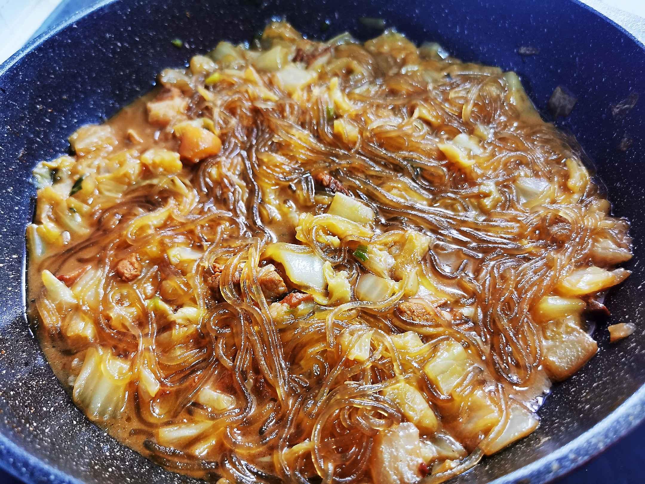 猪肉白菜炖粉条怎样煸
