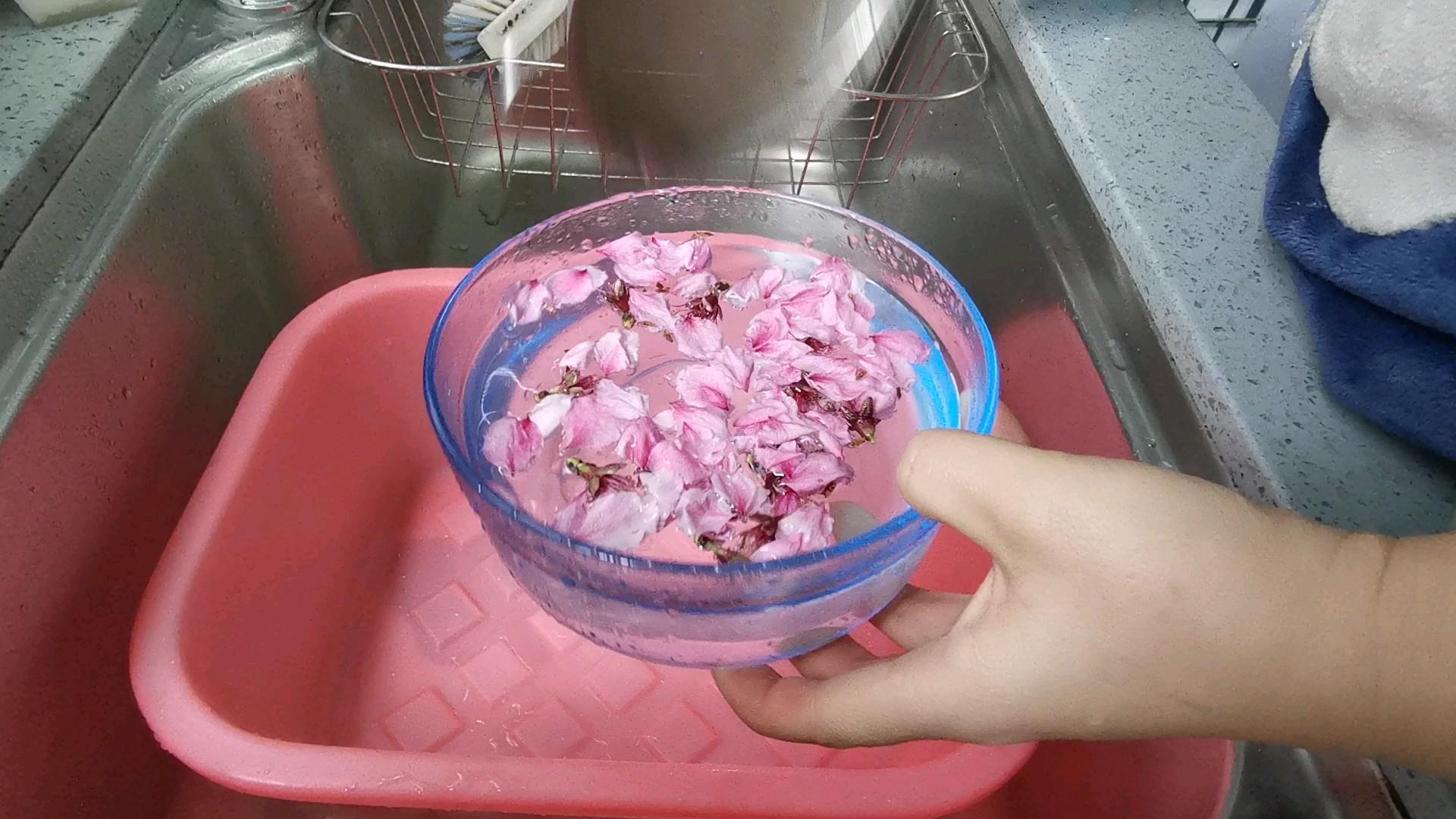 桃花凉粉的步骤