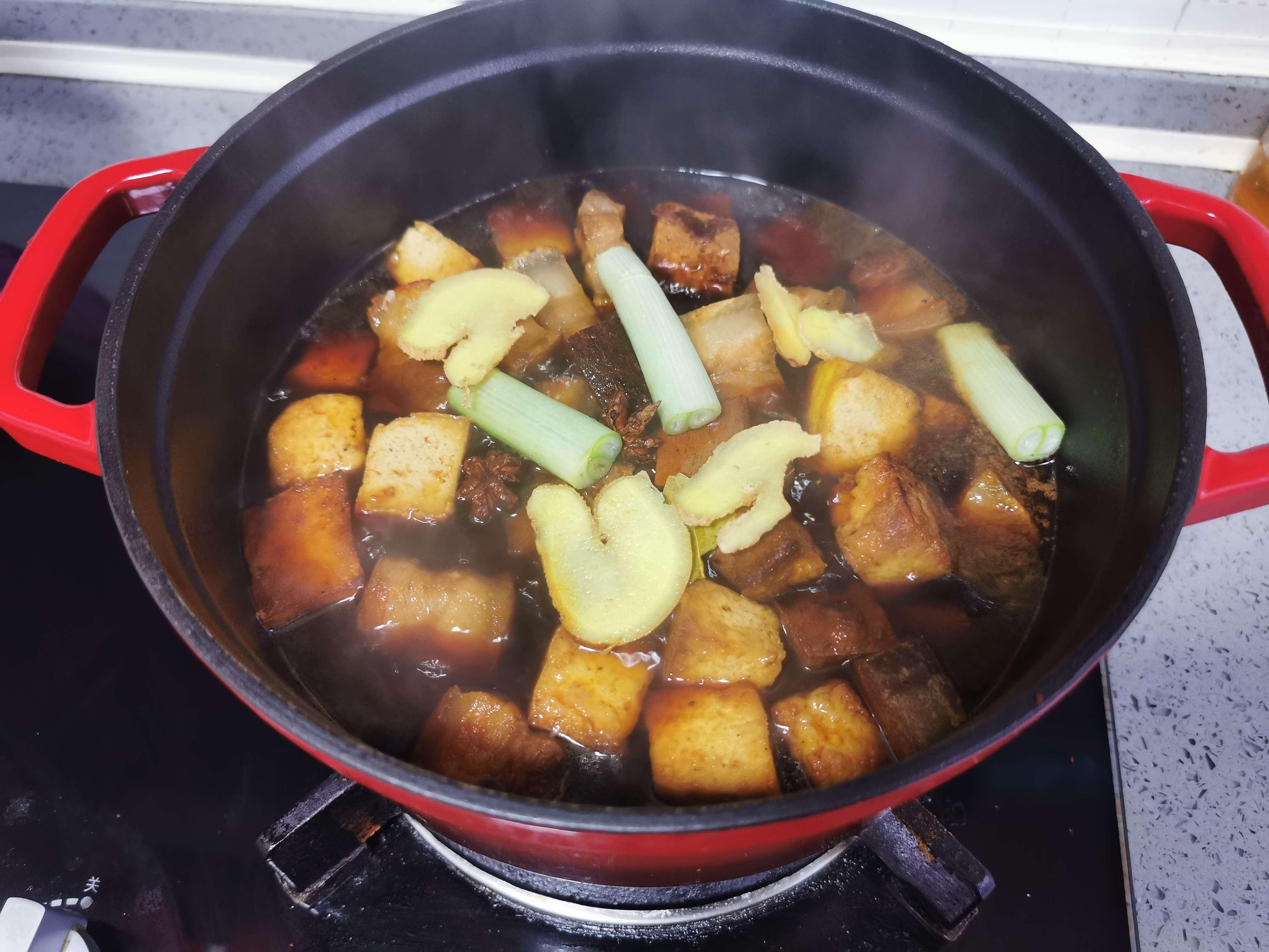 五花肉烧豆腐怎样炒