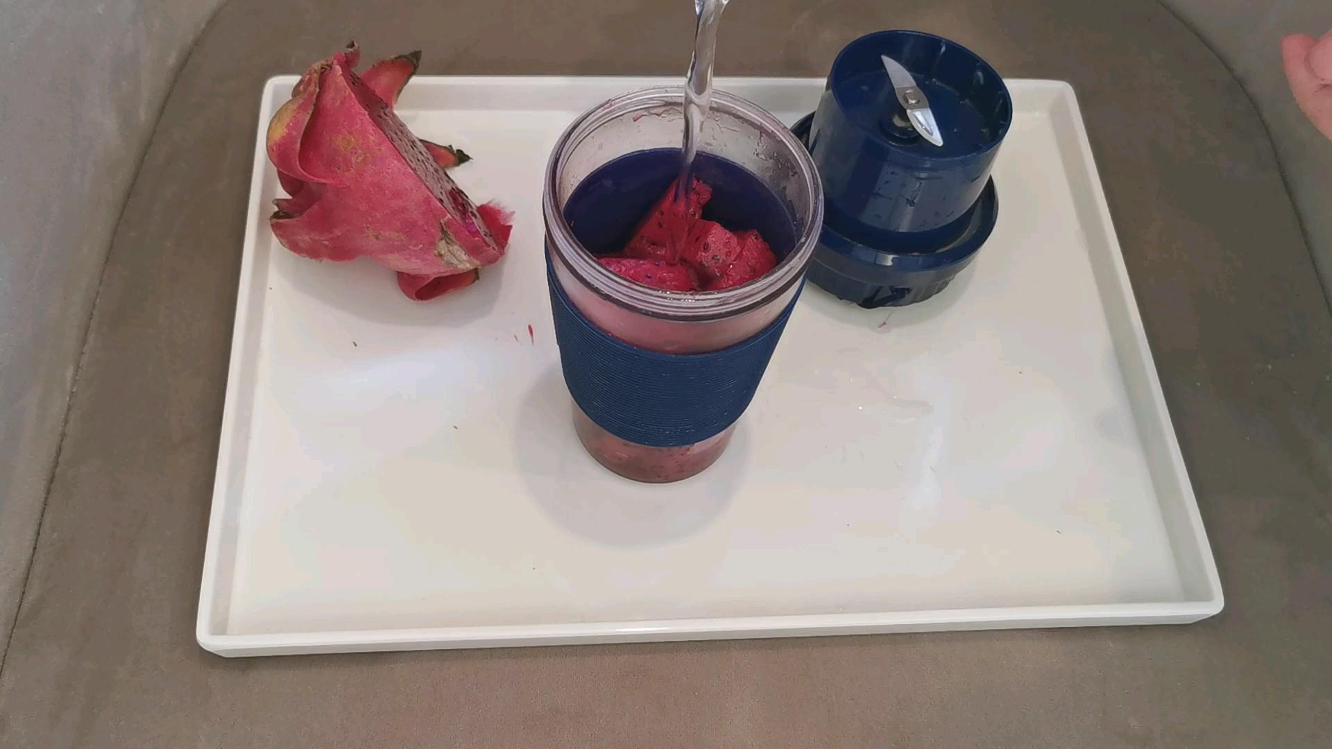 火龙果汁的家常做法
