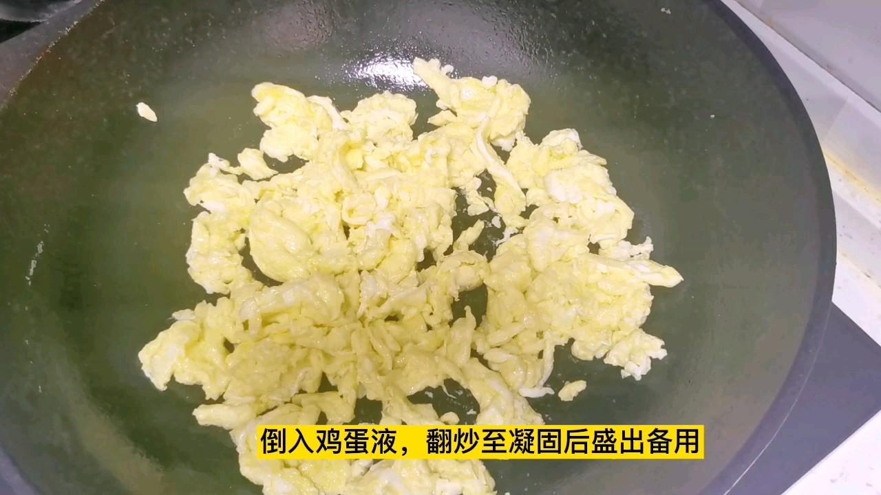 下饭神菜~西红柿炒鸡蛋,大蒜和白糖是提味的关键怎么吃