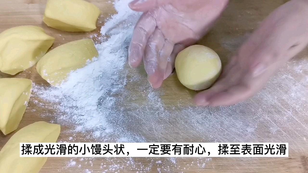 比面包还好吃的南瓜鸡蛋馒头,不要二次醒发,不用烤箱不加水怎么炒