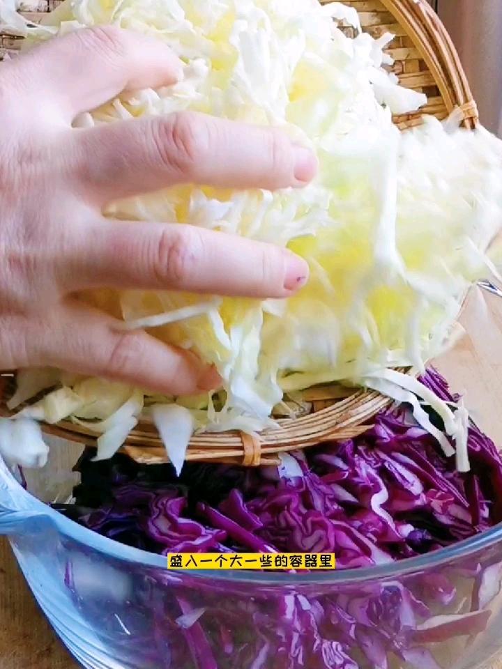 饱腹感极强的减脂菜:凉拌三丝的步骤