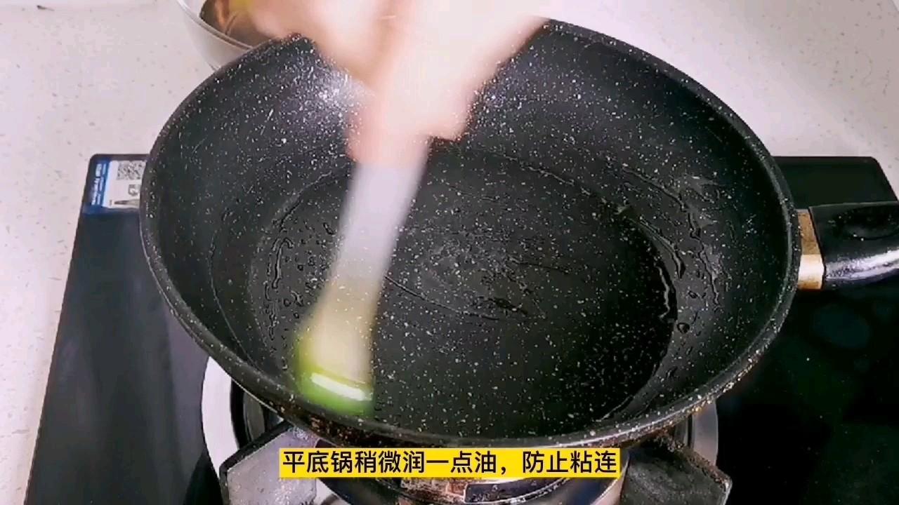 茴香煎饼,面粉与水1:2,简单好做零失误怎么吃
