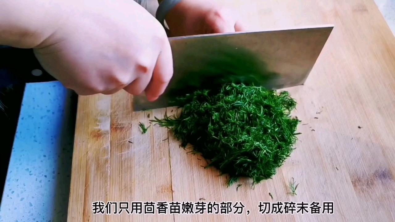 教你做比葱花饼还好吃的茴香千层锅盔,唇齿留香,干吃也完美的做法图解