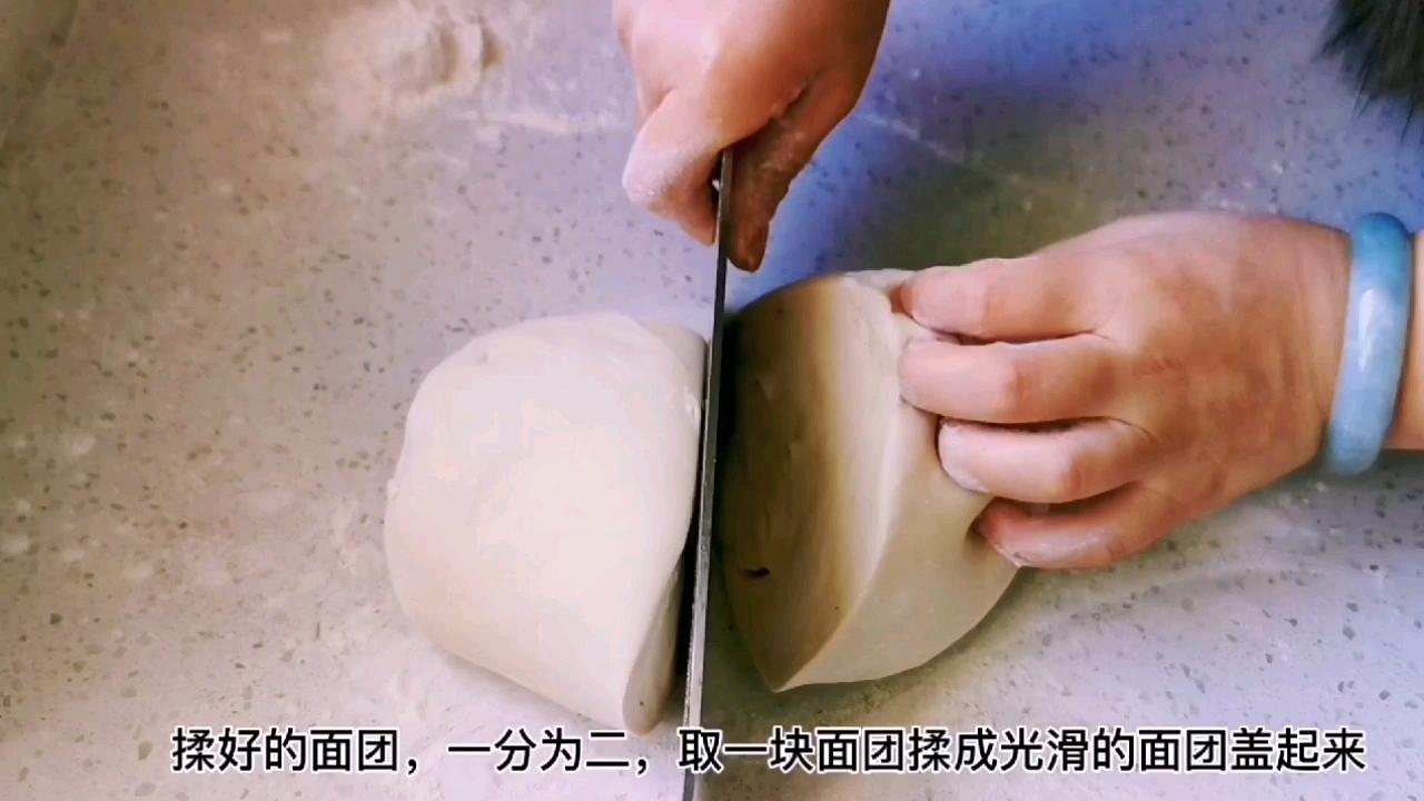 教你做比葱花饼还好吃的茴香千层锅盔,唇齿留香,干吃也完美的简单做法