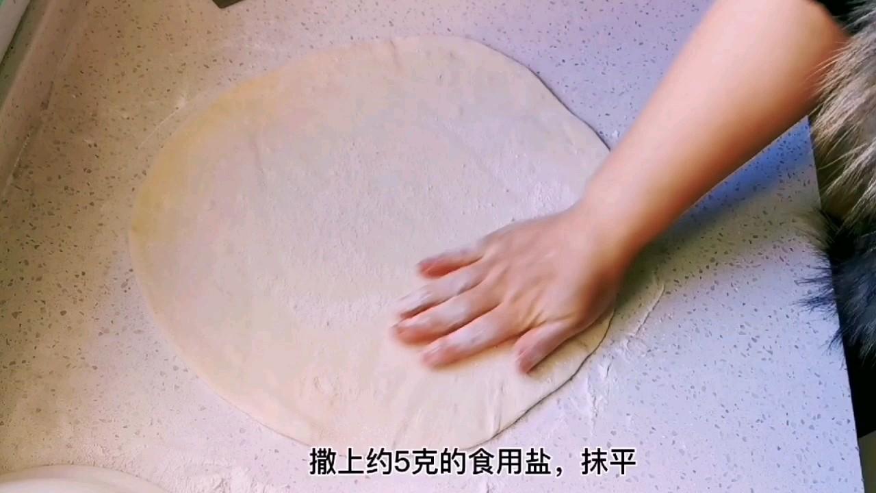 教你做比葱花饼还好吃的茴香千层锅盔,唇齿留香,干吃也完美怎么吃