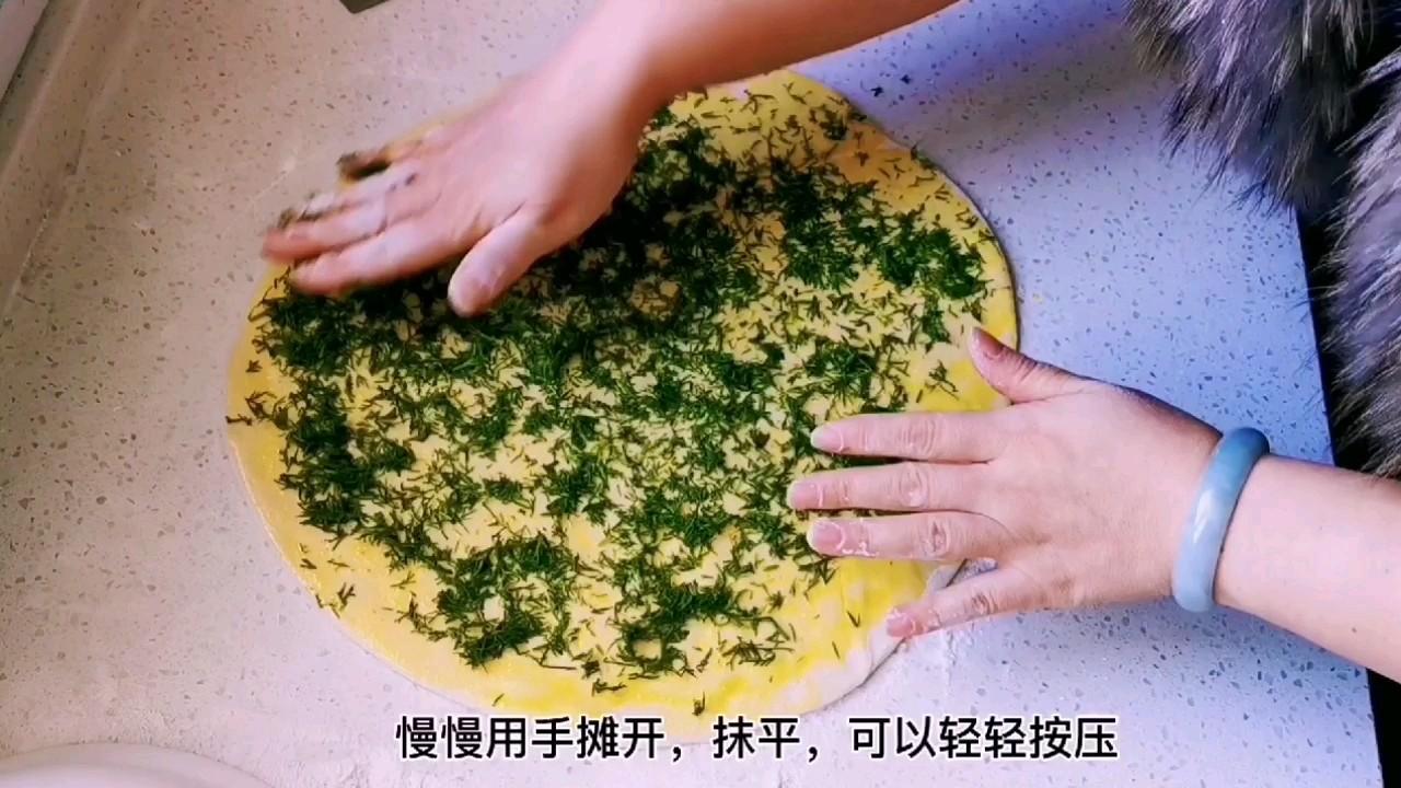 教你做比葱花饼还好吃的茴香千层锅盔,唇齿留香,干吃也完美怎么做