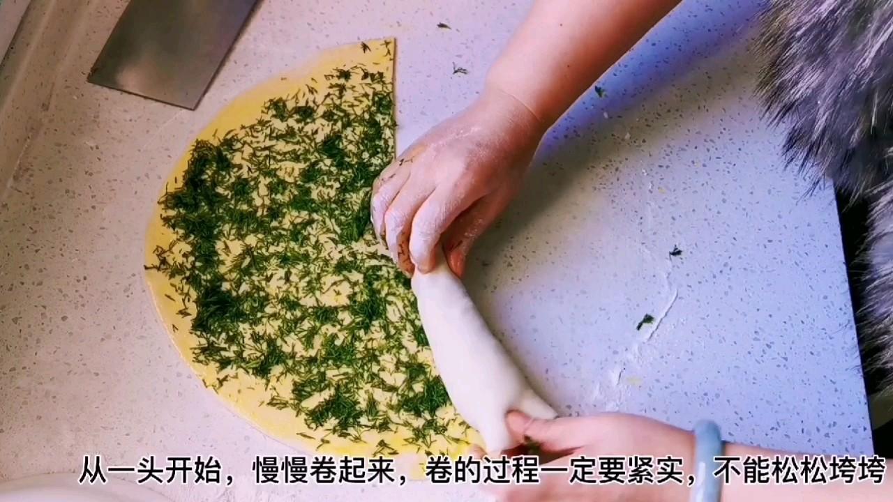 教你做比葱花饼还好吃的茴香千层锅盔,唇齿留香,干吃也完美怎么炒