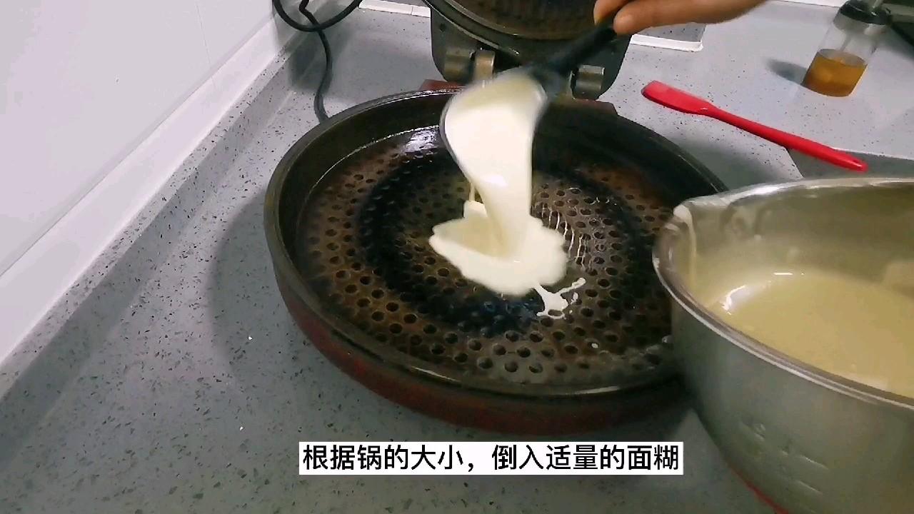 软嫩鸡蛋饼,面粉与水的比例是关键,经验更重要怎么吃