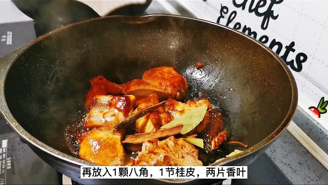 红烧土豆排骨的简单做法