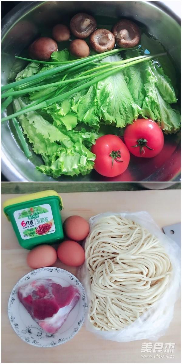 西红柿打卤面的做法大全