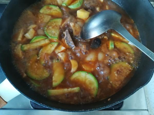 牛脊骨杂蔬汤怎么做