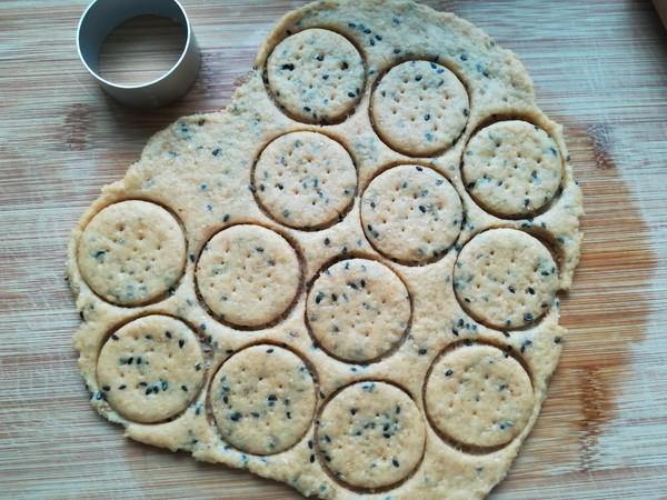 黑芝麻红薯饼干怎么炒