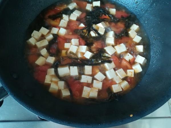 番茄紫菜豆腐汤的简单做法