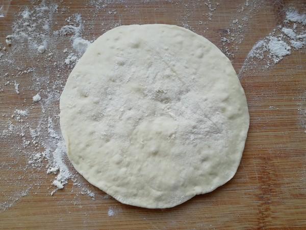 黑糯米发面饼的步骤