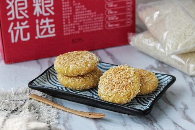 芝士红薯米饼成品图