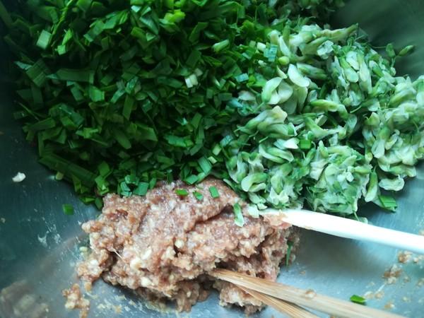 槐花蒸饺怎么吃