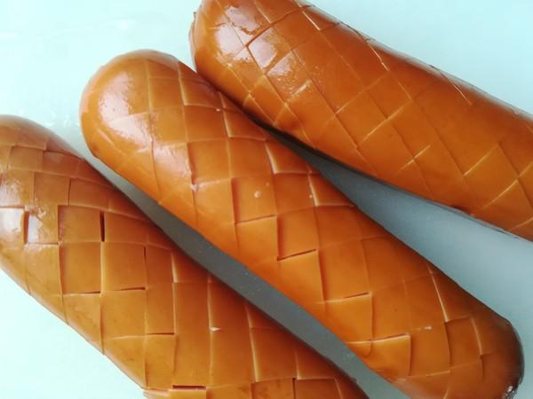热狗三明治的做法图解