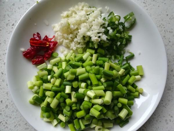 芽菜肉末蒜苔的做法图解