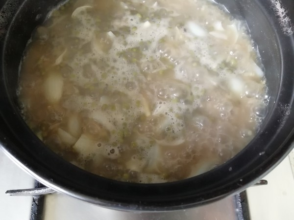 绿豆百合粥怎么炒