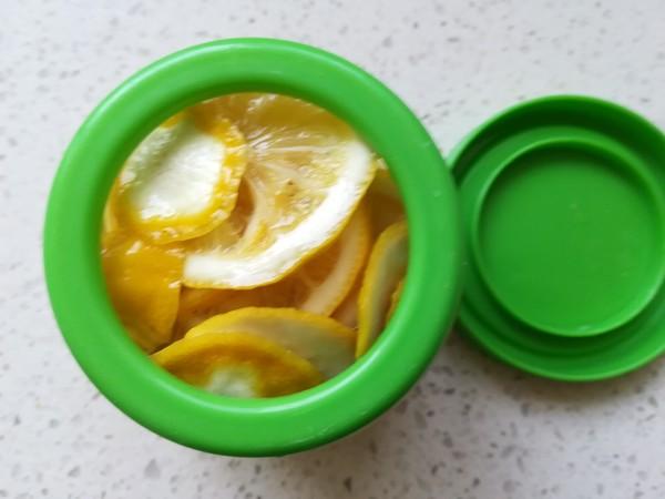 糖渍柠檬蜜桃茶怎么煮