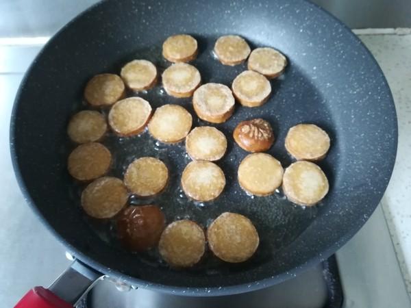 香菇木耳烧素鸡的家常做法