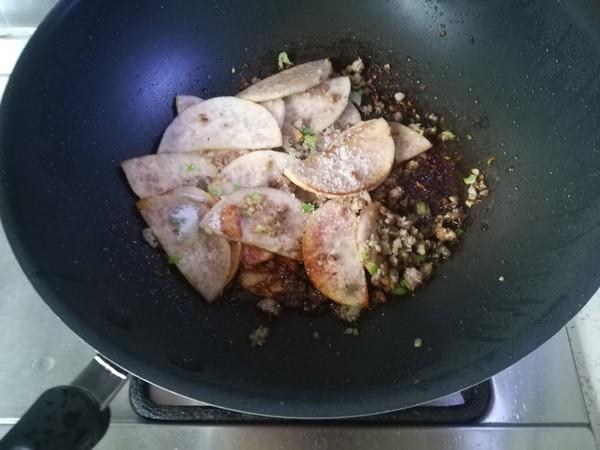 肉末烧芋头怎么吃